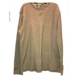 Bass Long Sleeve Thermal Green Shirt